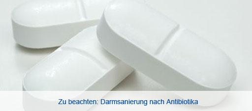 medikamente zur darmsanierung nach antibiotika